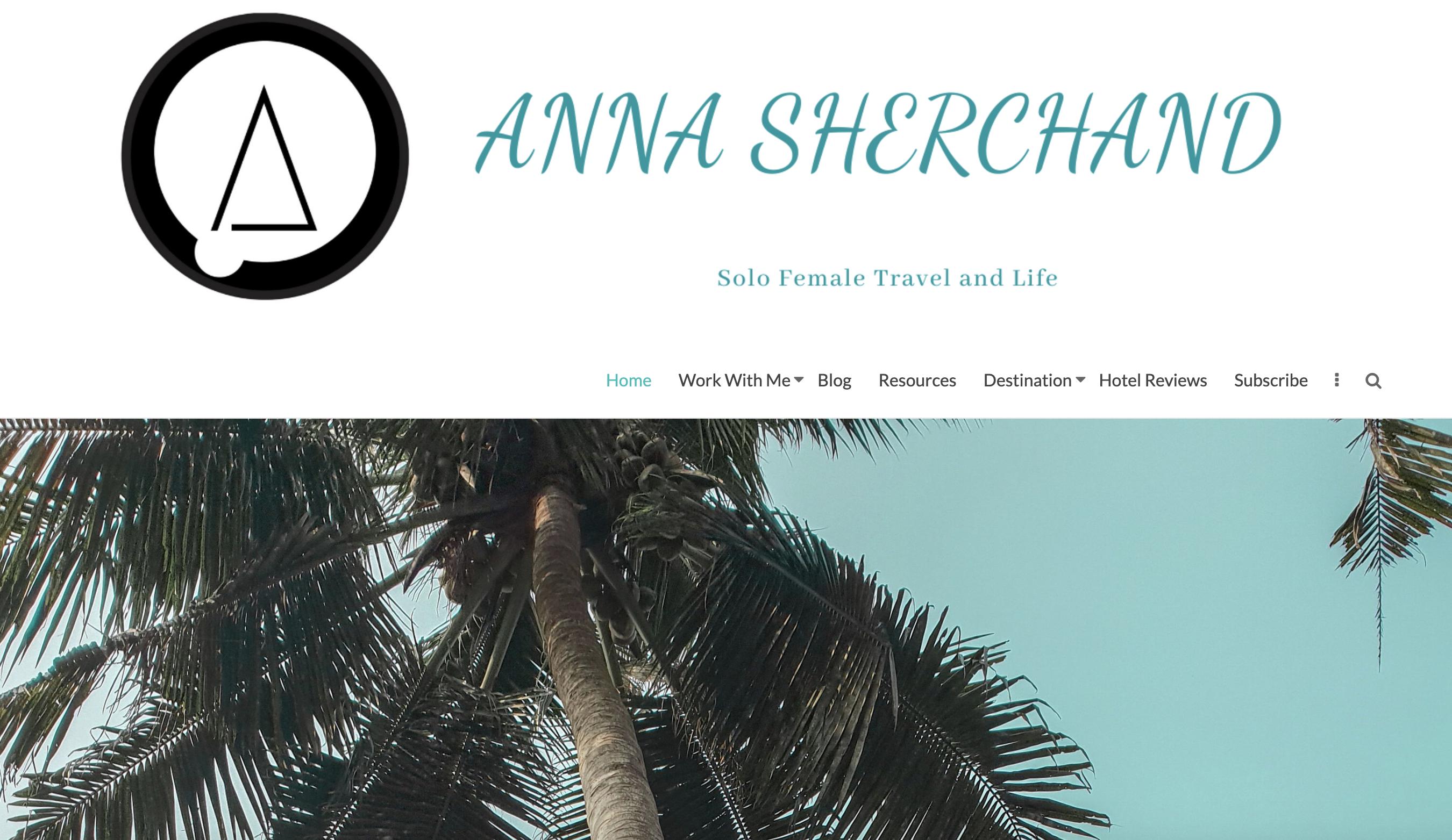 Anna Sherchand