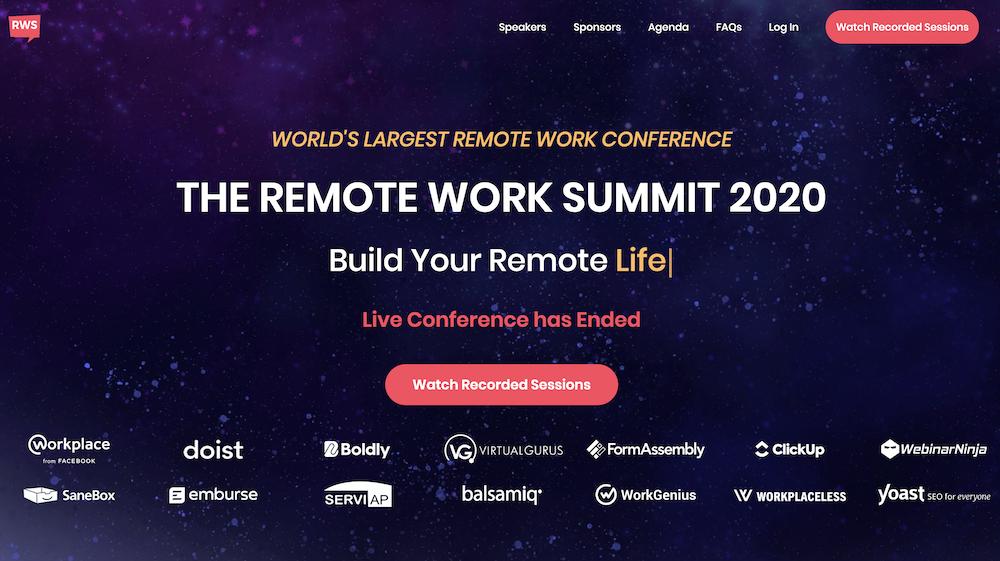 The Remote Work Summit
