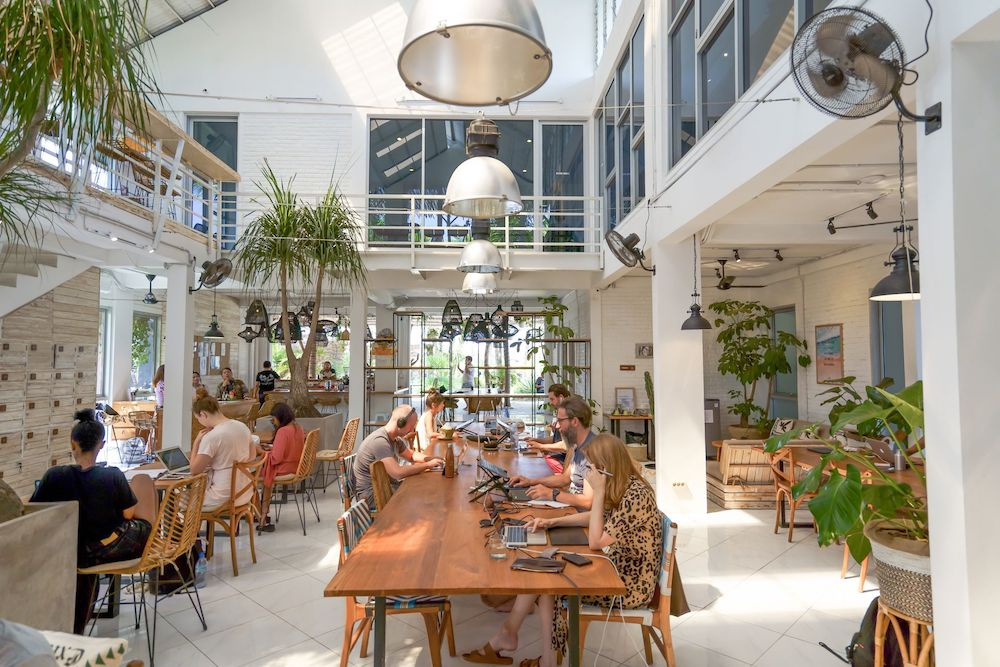 Tropical Nomad Bali Coworking Space