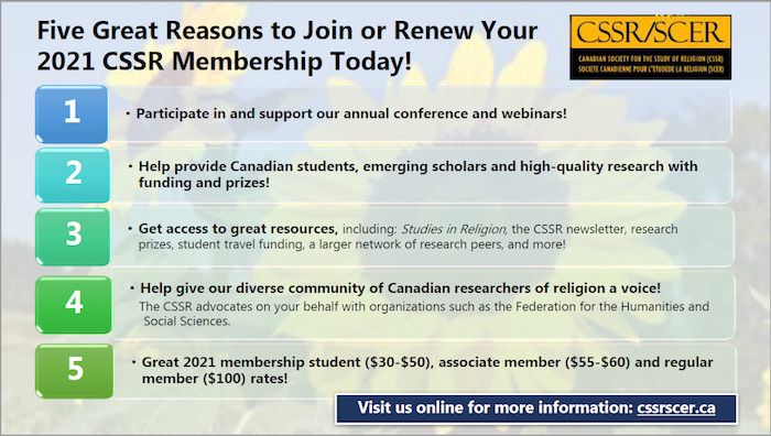 Canadian Society for the Study of Religion