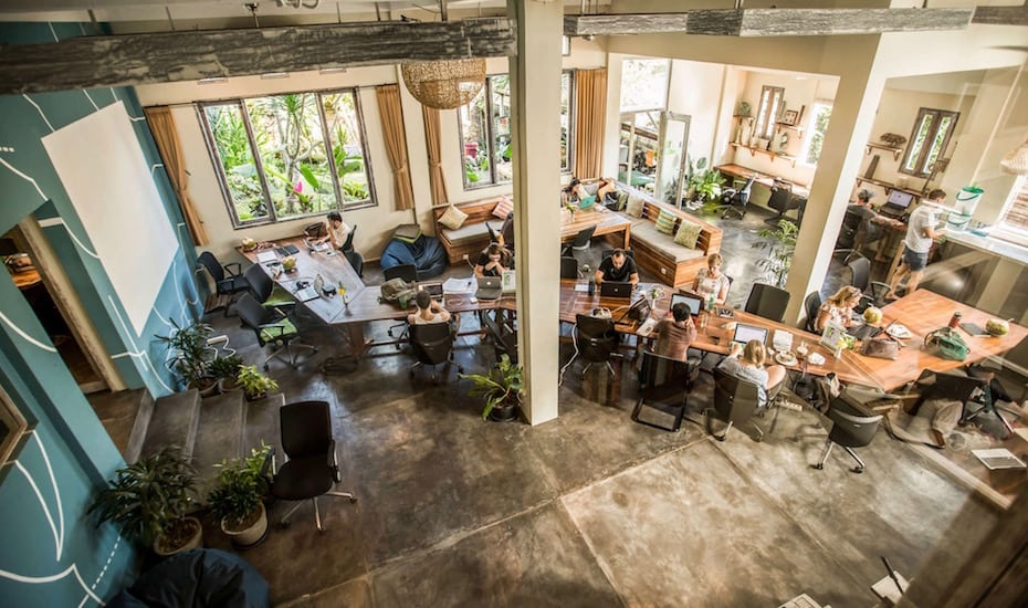 outpost ubud coworking space