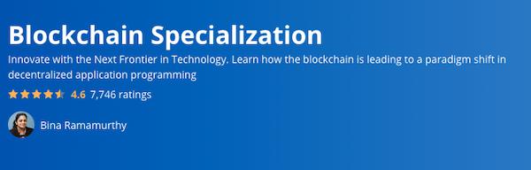 Blockchain Specialisation