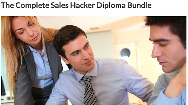 The Complete Sales Hacker Diploma