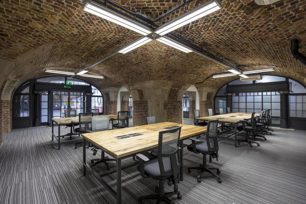 The Dock London coworking space